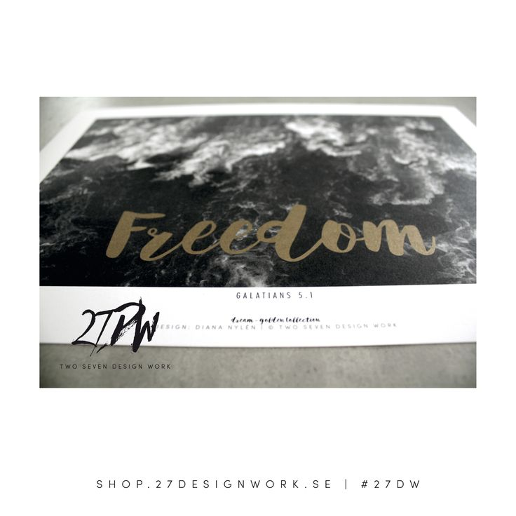 freedom - golden collection - 27DW - design d.nylén