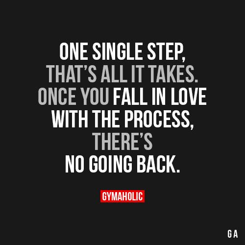 One Single Step, That's All It Takes
