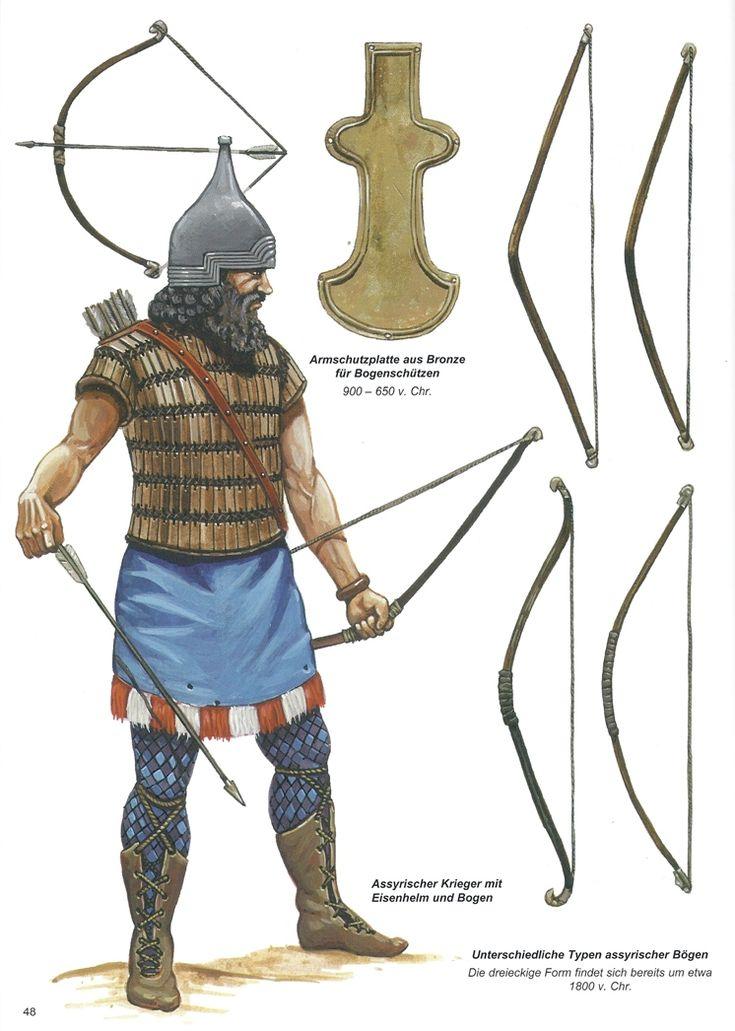 -1800 c. Assyrian archer