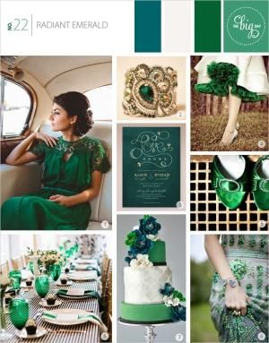 Wedding guest outfit: Emerald green dress, gold and grey or black ...