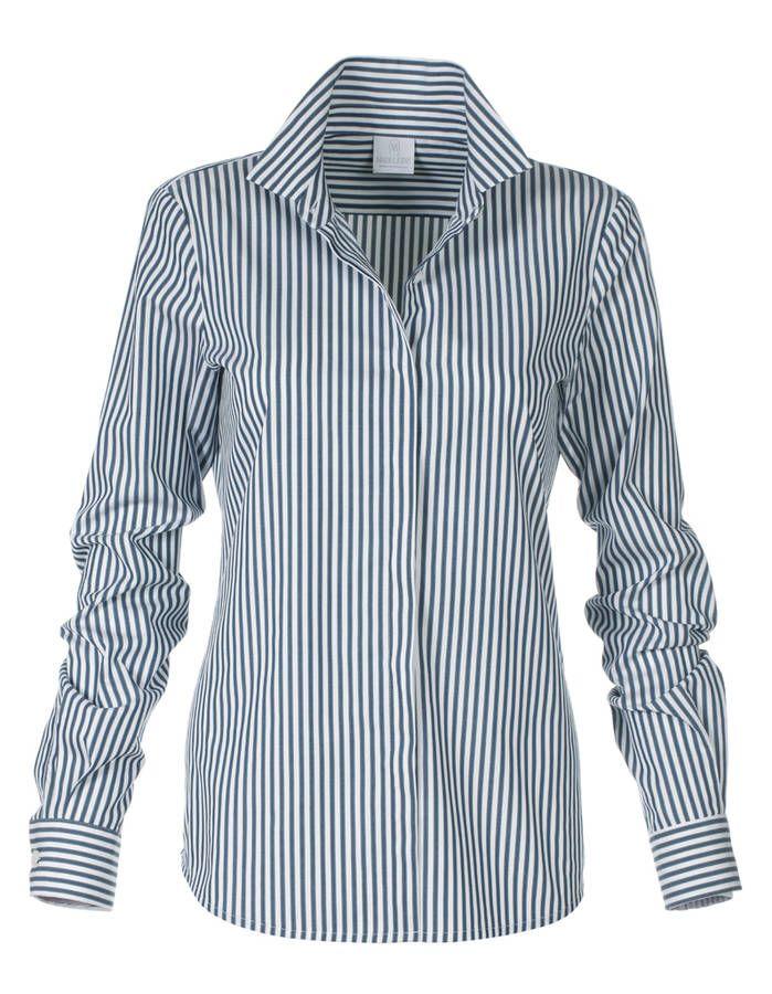 Chemise femme cintrée Madeleine 125 euros / 21 chemises pour passer du bureau au resto