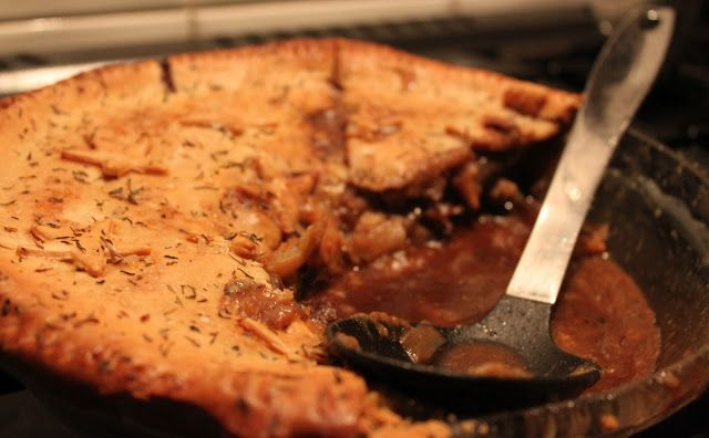 Fatboy's Kitchen: Beef & Stilton Pie