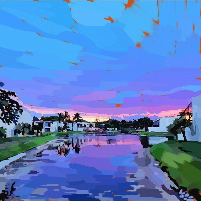 Kendall town 7/20/15 made with the #autodesksketchbook app for the #iPhone. #art #landscape #miami #florida
