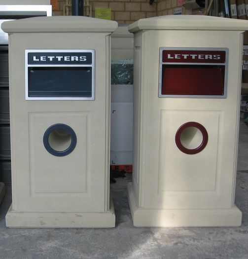 Deluxe Sandstone Letterbox, Letterboxes
