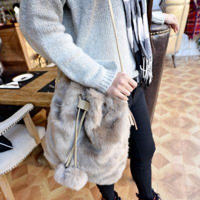 Sweet Tassel and String Design Women's Crossbody Bag