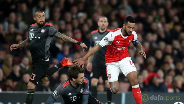Theo Walcott says it is up to Arsenal's players to take some pressure off under-fire manager Arsene Wenger by winning football matches.