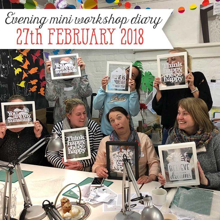Workshop Diary 24th February 2018