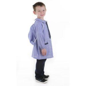 Escolar – Cuor di Mela Pintor azul del talle 4 al 8 colores azul / rosa y rojo