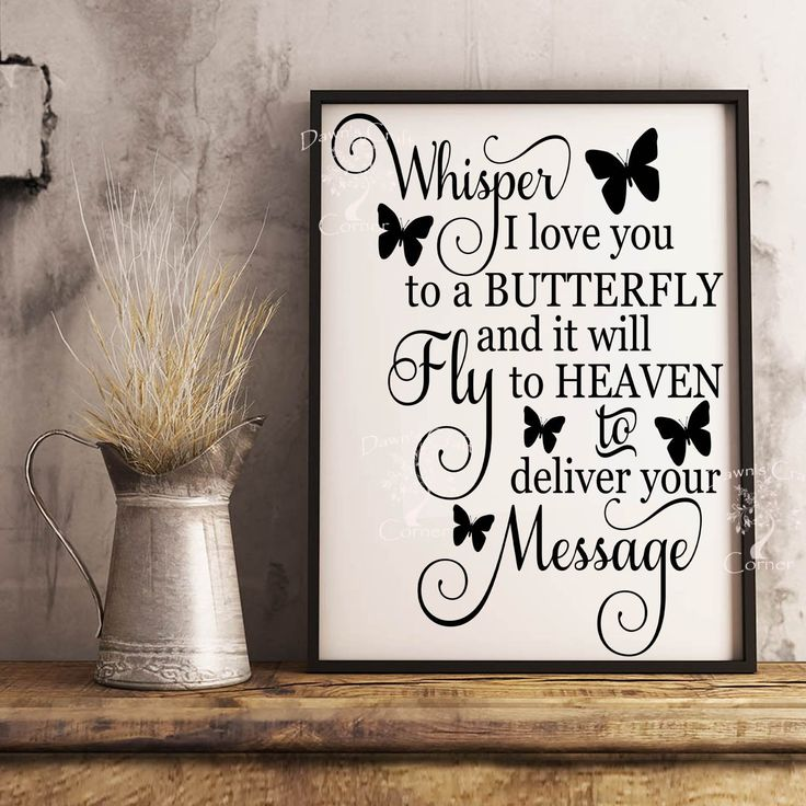 Download Whisper I Love You Svg; Whisper I love you to a butterfly ...