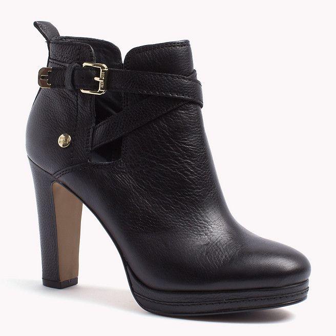 Tommy Hilfiger Lucy Ankle Boots - black (Schwarz) - Tommy Hilfiger Stiefel & Stiefeletten - detail-Bild 0                                                                                                                                                                                 Mehr