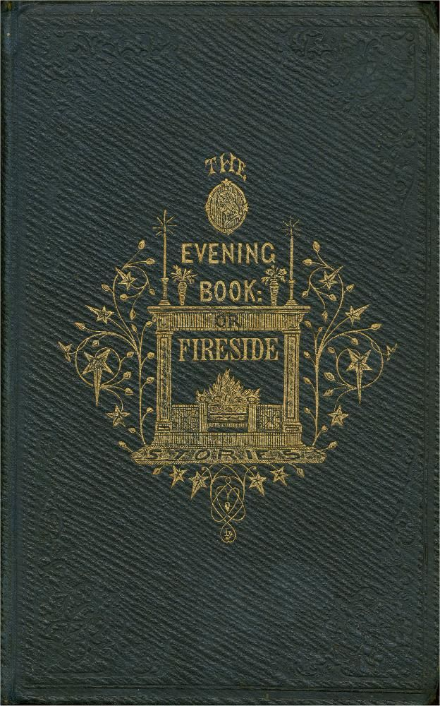 Book Cover Vintage Quotes ~ The evening book or fireside stories vintage