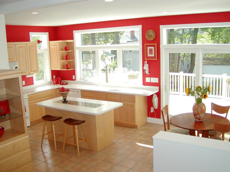 Kitchen blends with eating areas inside & outside deck (Cultivate.com): Photo