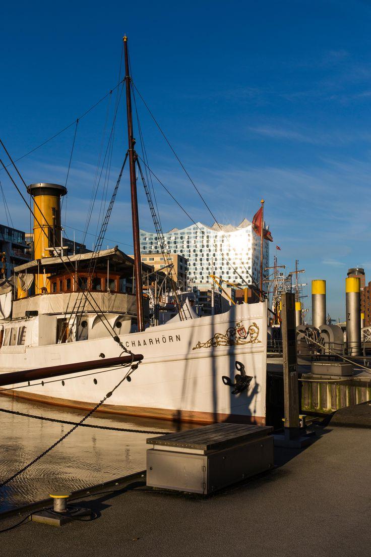 Die Schaarhörn im Traditionsschiffhafen Hamburg | Bildschönes Hamburg
