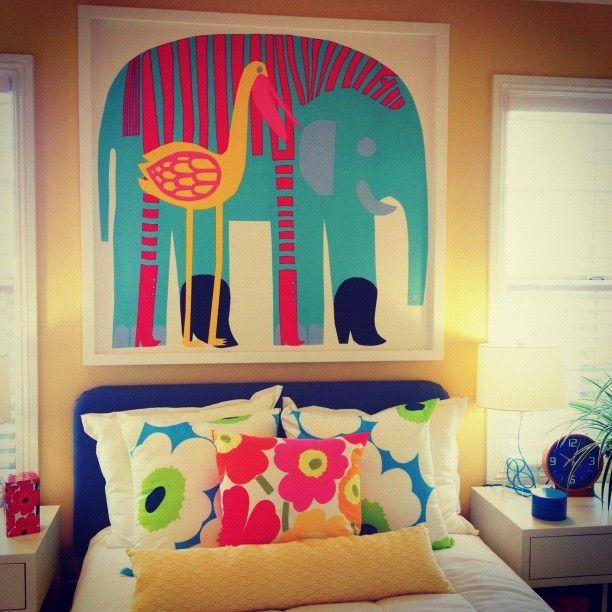 happy kids room Photo by @happymundane on Instagram