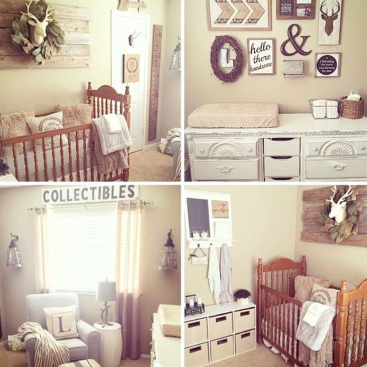 Transitional Nursery With Rustic Wood Wall: 201 Best Gallery Wall Ideas • DIY Gallery Accent Walls
