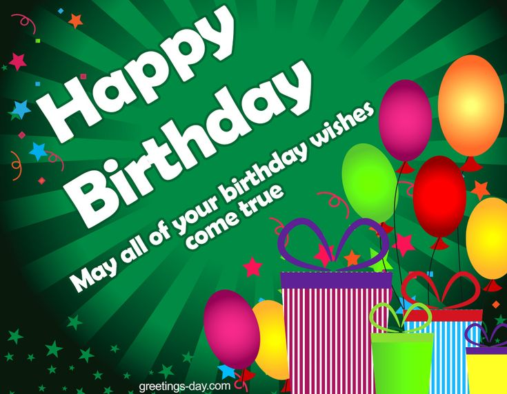 Happy Birthday - Best Wishes and Greetings…