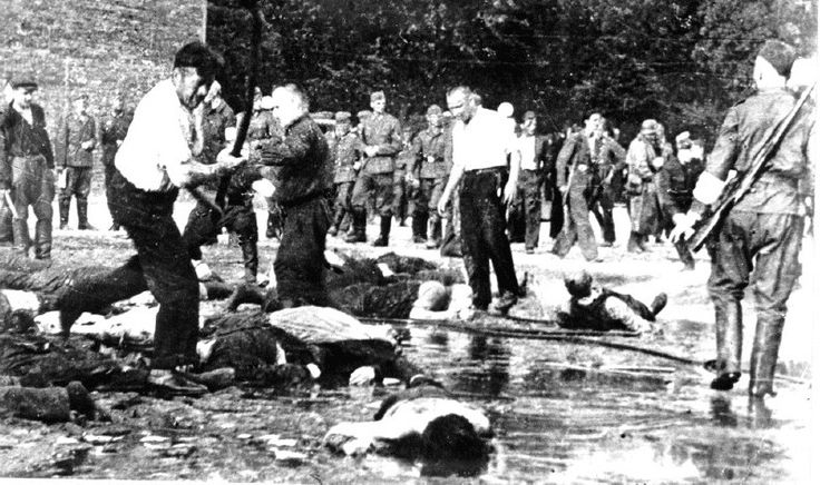 Jewish people beaten to death with iron bars by lithuanians The Gelpernus Diary - Resistance in the Kovno Ghetto -Revolt & Resistance www.HolocaustResearchProject.org