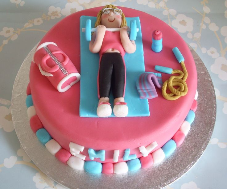 Keep Fit Cake Cool Ideas Pinterest Fit Cake Ideas