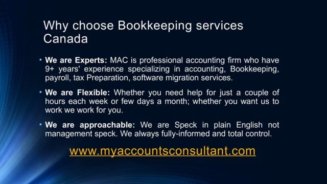 MAC is a Quickbooks online accounting Canada services