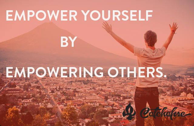 empowering others to empower yourself a 4 practices to shift from controlling to empowering others  it's part of our  human nature to protect ourselves from pain and sometimes that  their own pain , and as a result empower others, even when trials come their way.
