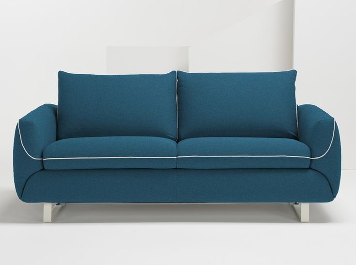 Pezzan Maestro Modern Sleeper Sofa | Ocean Blue - $2,359