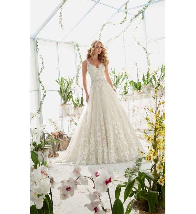 Szukasz wyjątkowej, eleganckiej a zarazem oryginalnej sukni ślubnej? Sprawdź model sukni MORI LEE 2821