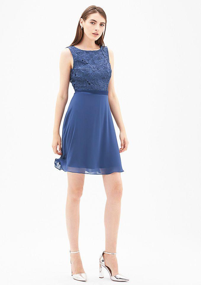 s.Oliver BLACK LABEL Kleid im edlen Fabric-Mix Jetzt bestellen unter: https://mode.ladendirekt.de/damen/bekleidung/kleider/sonstige-kleider/?uid=e9d27f05-727b-5e9e-af77-99a1d979a601&utm_source=pinterest&utm_medium=pin&utm_campaign=boards #sonstigekleider #kleider #bekleidung