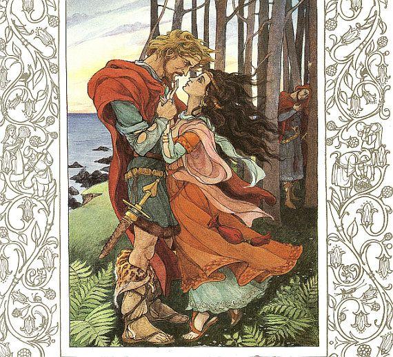 Canterbury Tales Trina Schart Hyman by HeatherwoodArtPrints, $9.50