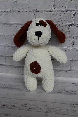 Crocheted-doll-amigurumi-doll-hand-crocheted-dog-stuffed-toy-handmade