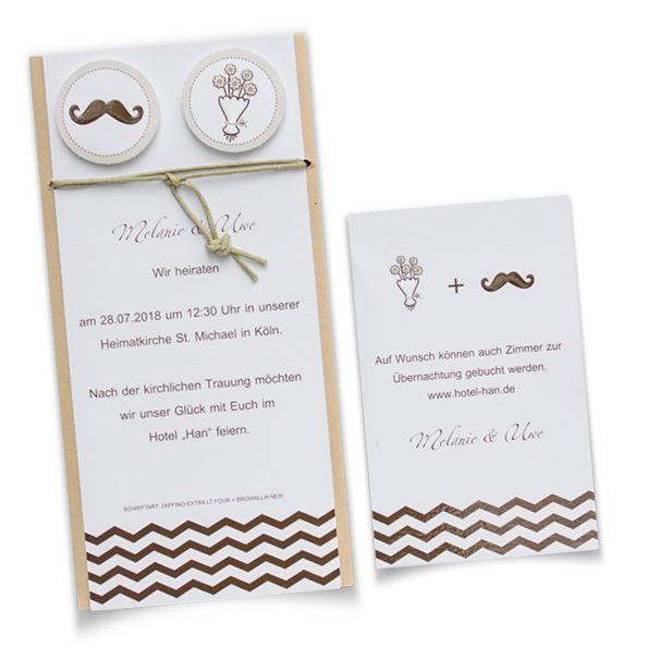 Einladungskarte Zur Hochzeit, Im Vintage Style. Ihre Einladungstexte Werden  Auf Einen Weißen Kart