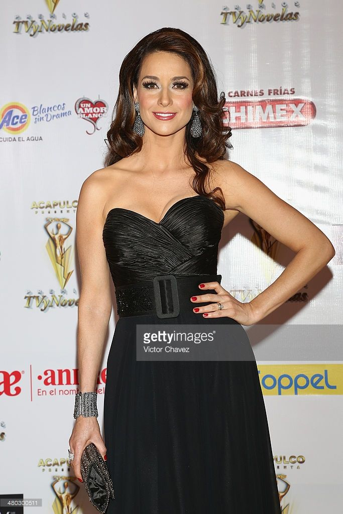 Susana González attends the Premios Tv y Novelas 2014 at Televisa Santa Fe on March 23, 2014 in Mexico City, Mexico.