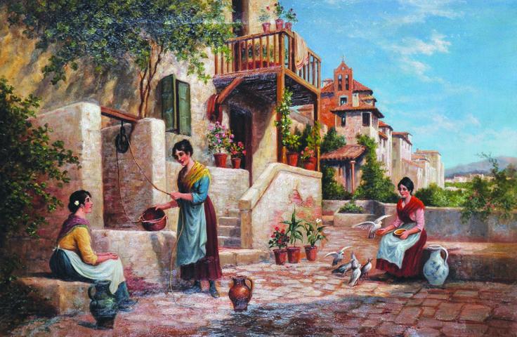 Arthur Trevor Haddon. British. Oil on canvas. £700-£900 (part of 100 lots in auction)