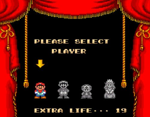 Super Mario Bros 2. I always picked Peach because she floats and her floating ability was very helpful on this game.