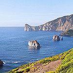 Hiking along the rugged Costa di Nebida on Sardinia por B℮n