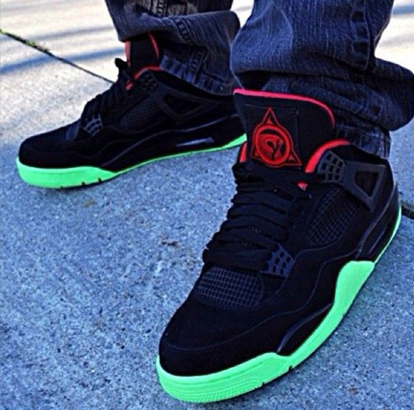 "Air Jordan 4 ""Yeezy"" Custom"