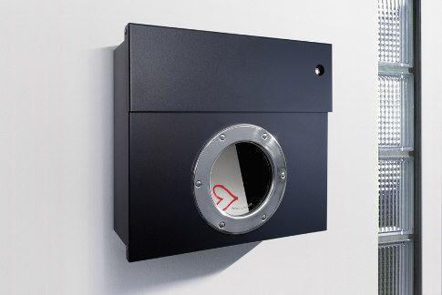boite aux lettres radius design - with door ring !!