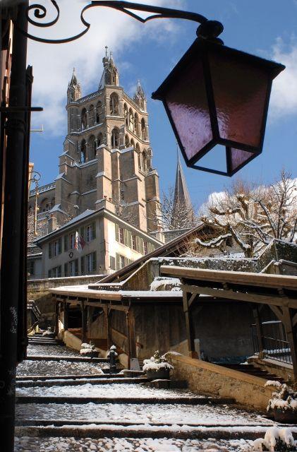 Vue du Vieux Lausanne