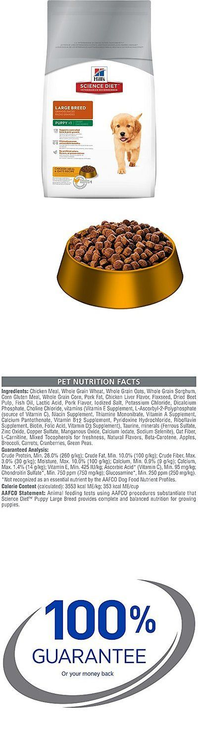 Dog Food 66780: Hills Science Diet Puppy Large Breed Dry Dog Food, 30-Pound Bag New BUY IT NOW ONLY: $49.29