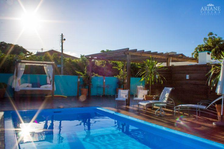 Espaço da Piscina - Pousada dos Chás Hotel Boutique.  #piscina #pool #sol #sun #bangalo #descanso #lazer #requinte #luxo #luxury #paz #peace #jurere #pousadadoschas #florianopolis #floripa #santacatarina #brasil #brazil