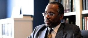 Ben Carson: 'I had my first encounter with the IRS' after challenging Obama10/1 --- I'M SURE HE DID.