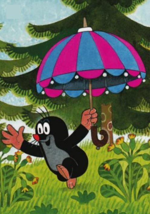 (2014-07) Muldvarpen løber med parasol