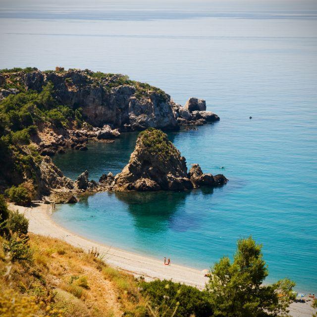 Playa de Maro , Nerja, (Málaga, España)