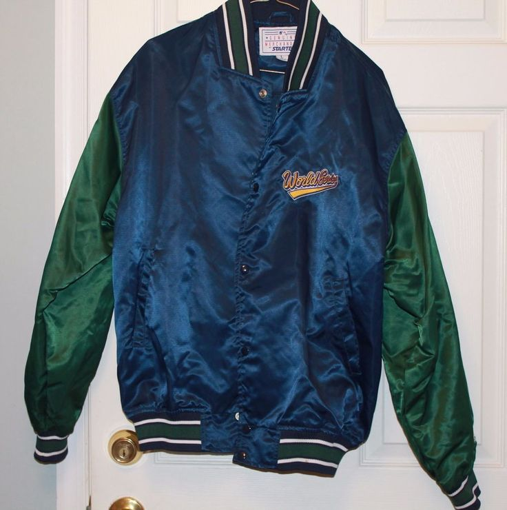 1997 World Series Jacket - Genuine Merchandise by Starter-Size L