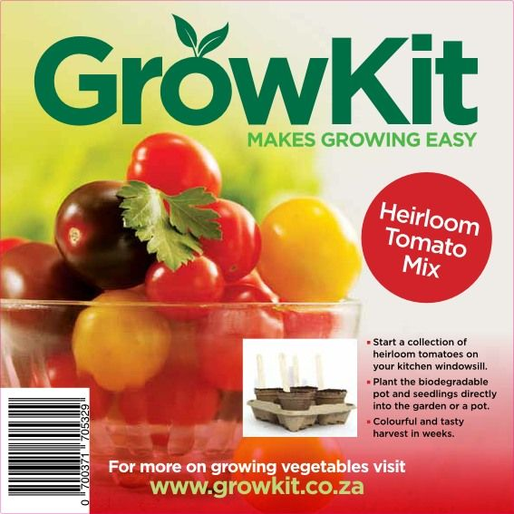 GrowKit Heirloom Tomato Mix