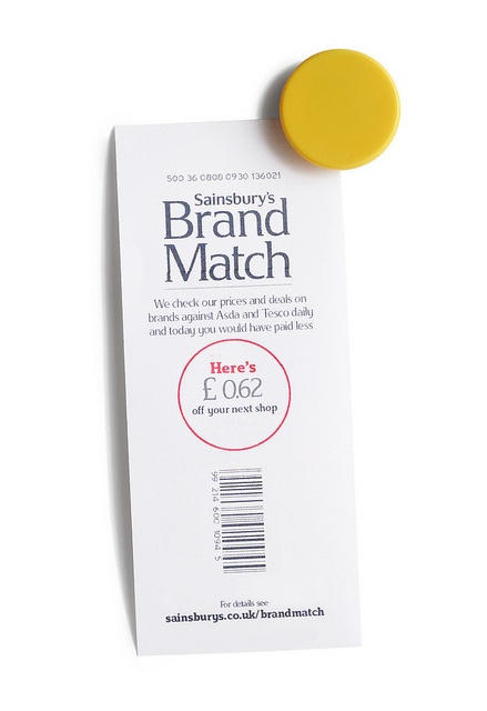 Brand Match Coupon by J Sainsbury, via Flickr