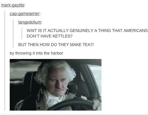 how Americans make tea