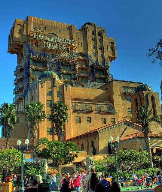 Hollywood Tower Hotel - California Adventure (Disneyland Park)