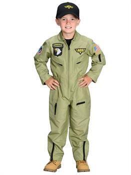 PartyBell.com - Boys Jr. Fighter Pilot Costume