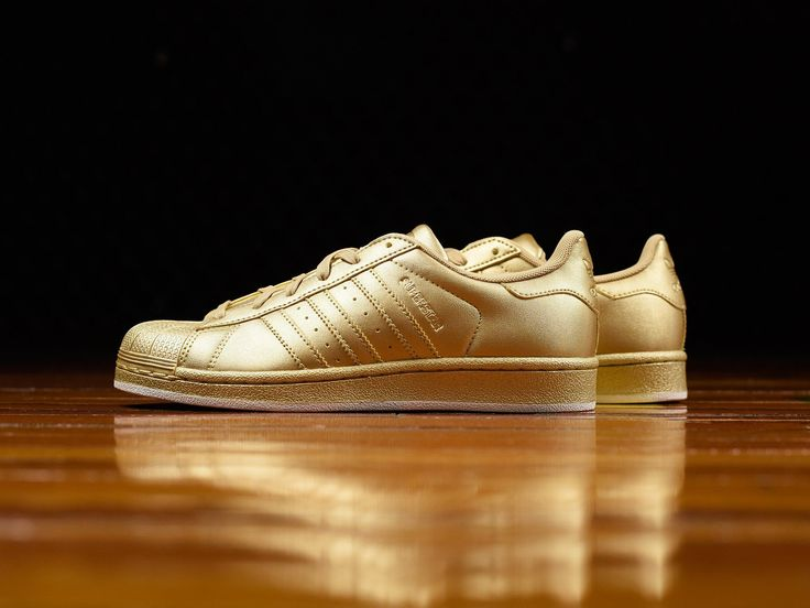 Women's Adidas Superstar W 'Gold' [BB8138]
