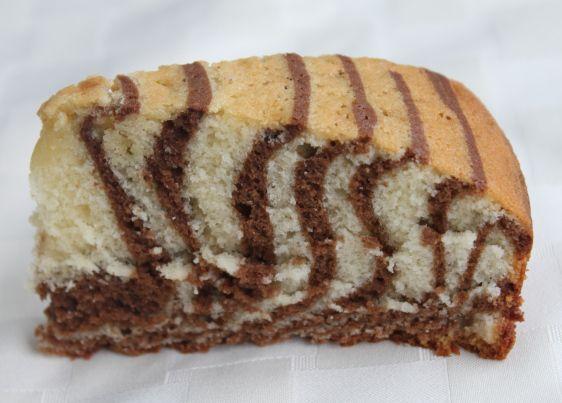 Torta marmolada con aceite